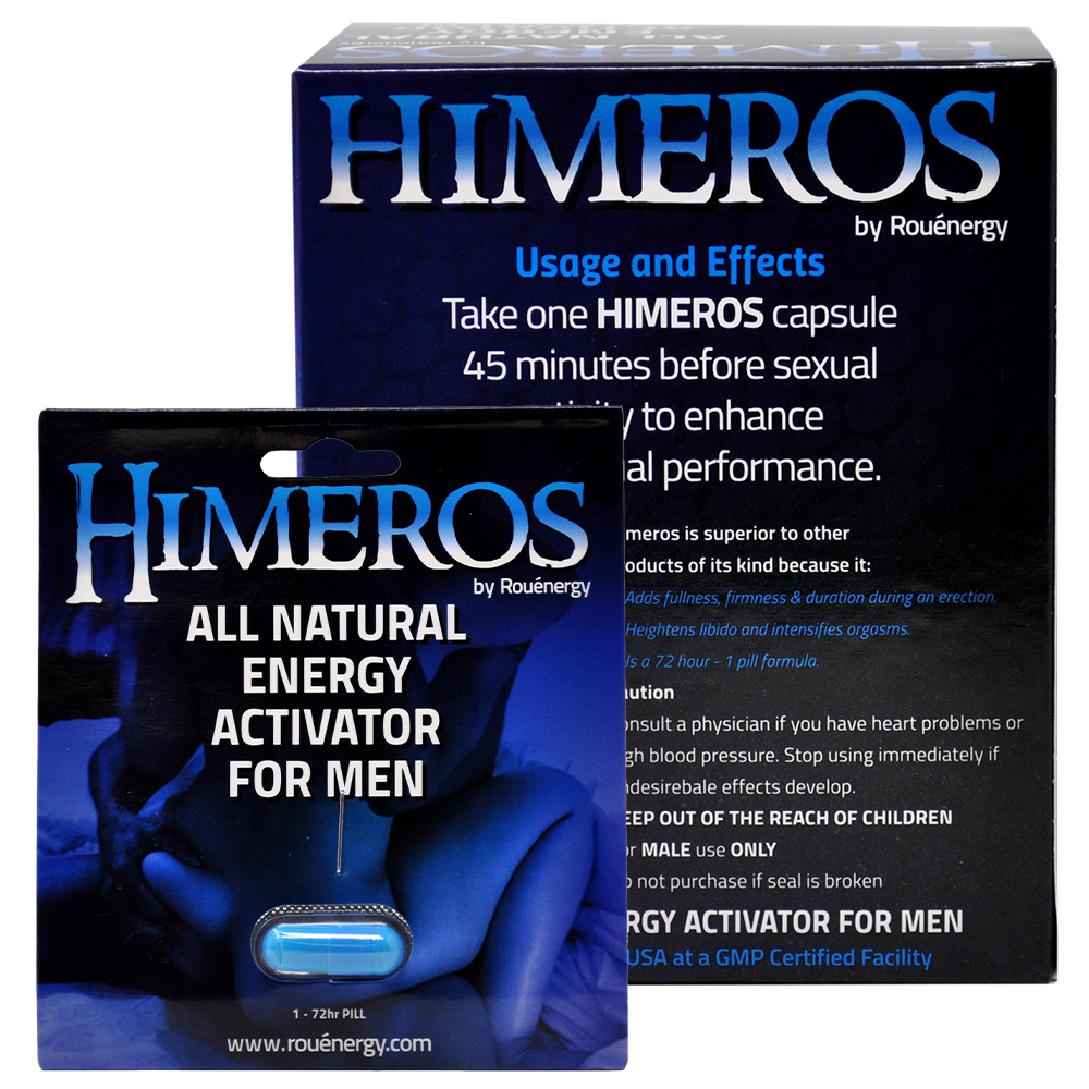 HIMEROS  Male Performance Supplement 12 Pack