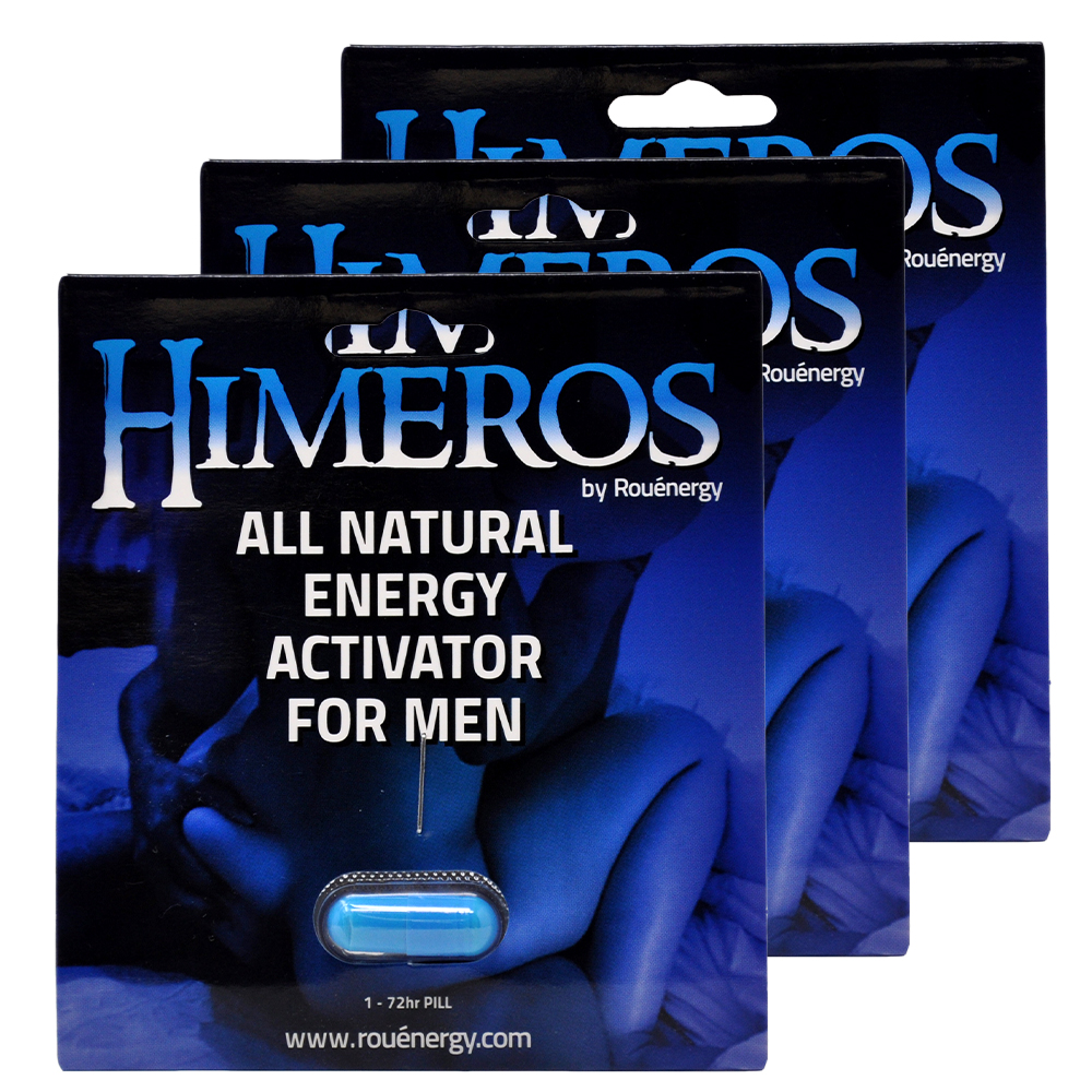 HIMEROS Performance Supplement 3 Pack