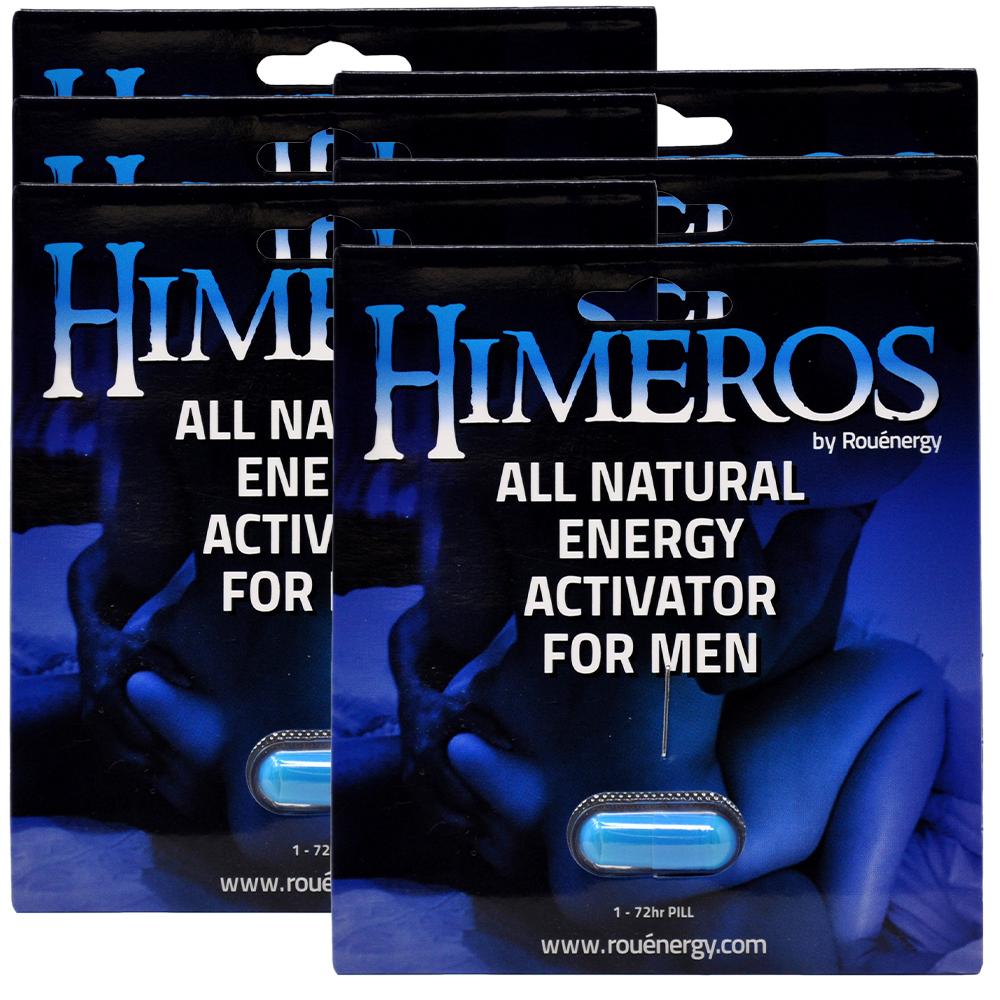 HIMEROS Male Performance Supplement 6 Pack