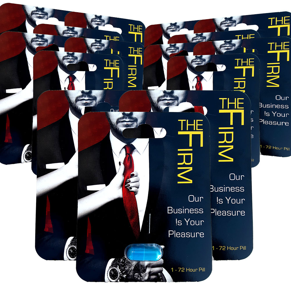 The Firm Male Performance Supplement 12 Pack