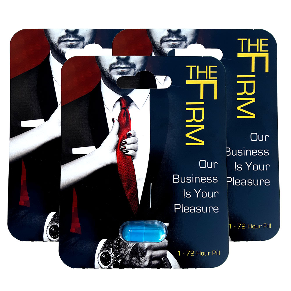 The Firm Male Performance Supplement 3 Pack
